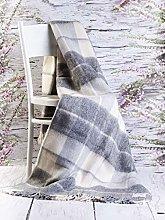 Merino Wool SALE !!! 100% ENGLISH TEA Sofa Picnic