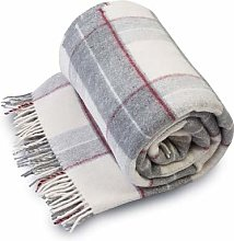 Merino Wool SALE LIGHT WEIGHT SOFT Blanket THROW