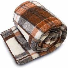 Merino Wool SALE ! NATURAL NATURAL BLANKET THROW