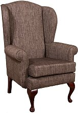 Merion Armchair Ophelia & Co. Upholstery: Charcoal