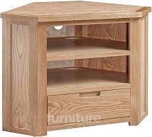 Merissa Oak Corner TV Cabinet
