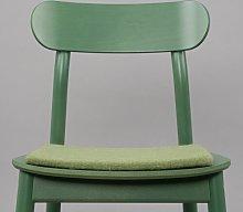 Merle Chair Pad Cushion Myfelt Colour: Dark Green