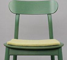 Merle Chair Pad Cushion Myfelt Colour: Light Green