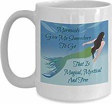 Mermaid 11oz Ceramic Mug - Seaworthy Gift Ideas