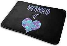Mermaid at Heart2 (2) Car Antislip Door Mat for