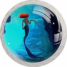Mermaid Cabinet Door Knobs Handles Pulls Cupboard