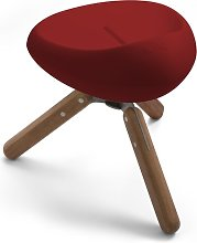 Merriam Stool Ebern Designs Colour: Red