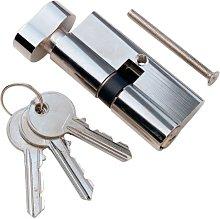 Merriway BH05898 EB Door Security Chain Brass Plated Steel