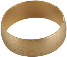 Merriway BH02307 Compression Olive, 15 mm - Brass,