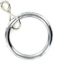 Merriway BH05393 Curtain Drapery Pole Rod Ring