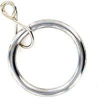 Merriway BH05394 Curtain Drapery Pole Rod Ring