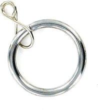 Merriway BH05397 Curtain Drapery Pole Rod Ring