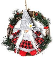 Merry Christmas Garland Decoration Front Door