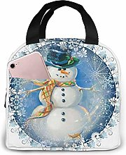 Merry Christmas Lunch Bag Cooler Bag Women Tote