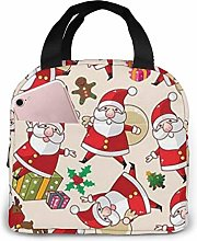 Merry Christmas Lunch Bag Insulated Lunch Box Soft