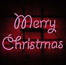 Merry Christmas Neon Sign Light, Handmade Real