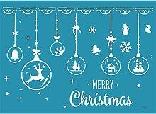Merry Christmas Self Adhesive Silk Screen Printing