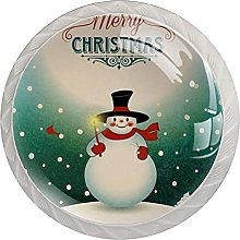 Merry Christmas Snowman Decoration Greeting 4