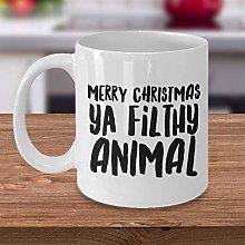 Merry Christmas Ya Filthy Animal Mug Funny