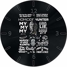 Merryfull Wall Clock Silent Non Ticking Round Wall