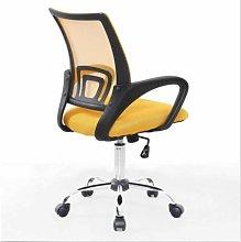 Mesh Back Swivel Padded Desk Chair (Green) - Evre