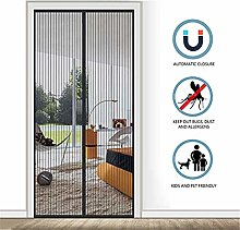 Mesh Fly Insect Mosquito Door Curtain Magnetic