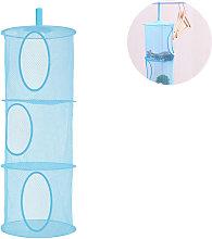 Mesh Hanging Storage Basket, Foldable Network