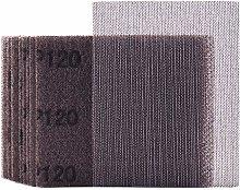 Mesh Sheet Sandpaper 120 Grit 1/4 Sheet Hook &