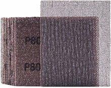 Mesh Sheet Sandpaper 80 Grit 1/4 Sheet Hook & Loop