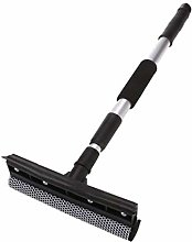 Mesh Sponge Squeegee Dual Head with Rubber Blade