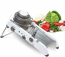 Meshela Adjustable Vegetable Slicer,Mandoline