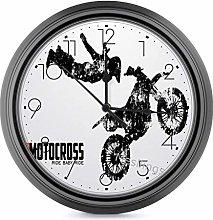 Mesllings Decor Wall Clock, European Retro Clock