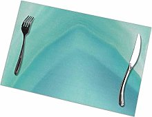 Mesllings Geode Crystal Turquoise Placemat