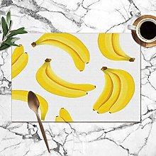 Mesllings Placemats Yellow Banana Ripe Bananas