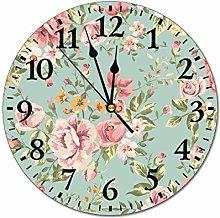 Mesllings Wall Clocks Classic Seamless Vintage