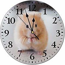 Mesllings Wall Clocks Selective Focus Of Brown