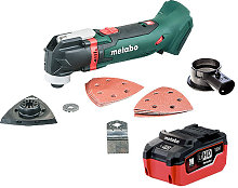 Metabo MT 18 LTX 18V Multi Tool & Accessories with