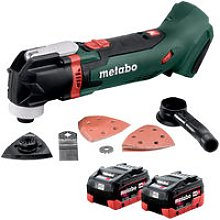 Metabo MT18LTX 18V Multi Tool & Accessories with 2