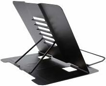 Metal Book Stand, Portable Adjustable Reading Book
