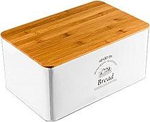 Metal Bread Bin, Kitchen Storage Bread Box with