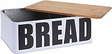 Metal Bread Bin Kitchen Storage Tea Coffee Sugar
