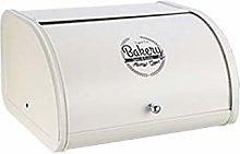 Metal Bread Box Bin Sliding Design Storage Box