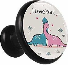Metal Cabinet Knobs Pulls Cartoon Dinosaur Lovers