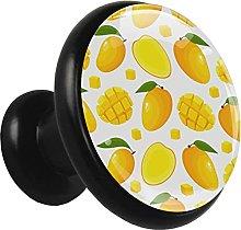 Metal Cabinet Knobs Pulls Mango Round Crystal