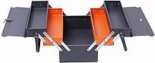 Metal Cantilever Tool Box 3 Tier 5 Tray
