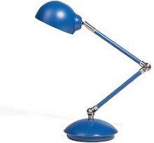 Metal Desk Lamp Blue HELMAND