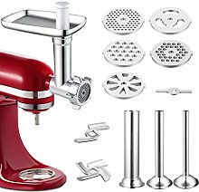 Metal Food Grinder Attachment Compatible with All