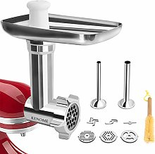 Metal Food Grinder Attachment for KitchenAid Stand