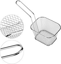 Metal Fry Baskets, Small Gold Baking Cooking Tool