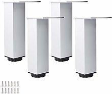 Metal Furniture Legs Height Adjustable Aluminum